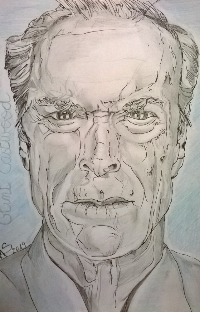 Clint Eastwood by noisette